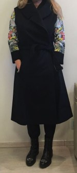 Полупальто без рукавов черное I.Marras 119105 Image 0