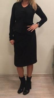 Платье черное без рукавов Malloni 40368S022 Image 1