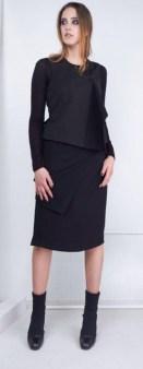 Платье черное без рукавов Malloni 40368S022 Image 0