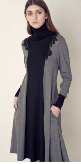 Платье серое SFIZIO арт.6316 Image 0