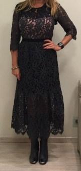 Платье серое кружева SFIZIO арт.6336 Image 1