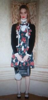Платье с розами Blugirl Blumarine арт.47388 Image 0