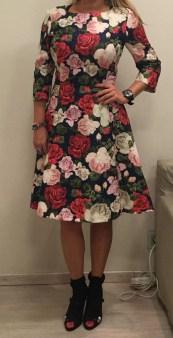 Платье с розами Blugirl Blumarine арт.47388 Image 1
