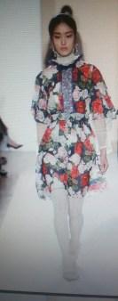 Платье с розами шифоновое Blugirl Blumarine арт.47382 Image 0