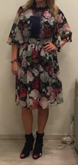 Платье с розами шифоновое Blugirl Blumarine арт.47382 Image 2