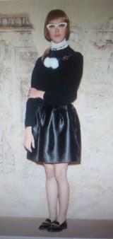 Юбка атласная черная Blugirl Blumarine арт.2552 Image 0