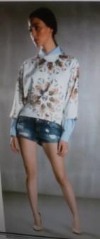 Шорты джинсовые голубые  Frankie Morello арт.7068 Image 0