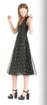 Платье черное тюль Ottod`Ame арт.2963 Image 0