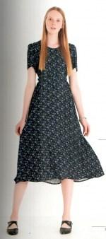 Платье синее с цветочным принтом Ottod`Ame арт.2969 Image 0