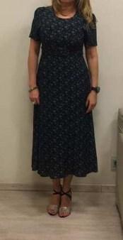 Платье синее с цветочным принтом Ottod`Ame арт.2969 Image 1