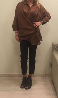 Блузка коричневая Malloni арт.2855 Image 1