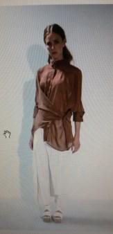 Блузка коричневая Malloni арт.2855 Image 0