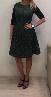 Платье-сарафан зеленое ANONYME арт.U37FD010 Image 0