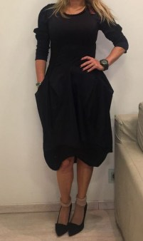 Платье черное HIGH арт.S21385 Image 0