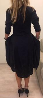 Платье черное HIGH арт.S21385 Image 1