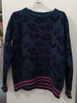 Свитер бирюзово-фиолетовый арт.V5453A124 Imperial Image 1
