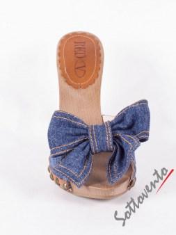 Сабо синие  джинсовые  Valentino Red 0.82 Image 2