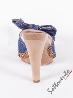 Сабо синие  джинсовые  Valentino Red 0.82 Image 5