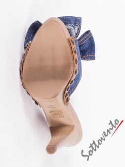 Сабо синие  джинсовые  Valentino Red 0.82 Image 6