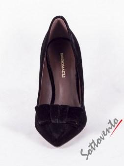 Туфли чёрные замшевые  HALKI Bruno Magli Image 2