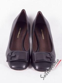 Туфли чёрные LEIPSOI Bruno Magli Image 1