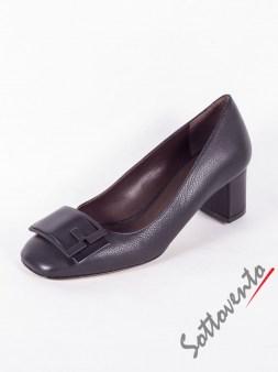 Туфли чёрные LEIPSOI Bruno Magli Image 4