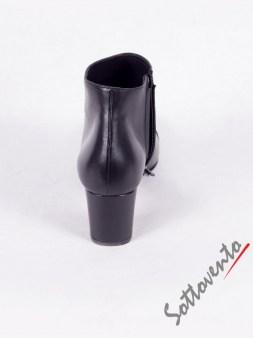 Полусапоги чёрные с серым Bruno Magli  DS3255 Image 5