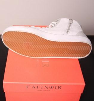 Кроссовки белые с блёстками CAFeNOIR Eg612 Image 3