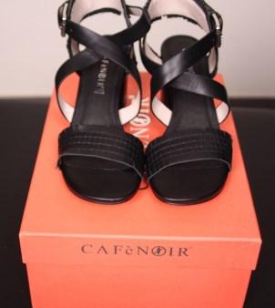 Босоножки  чёрные CAFeNOIR NA114 Image 0