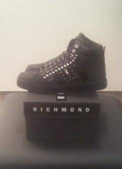 Кроссовки черные с мехом Richmond 6452 Image 1