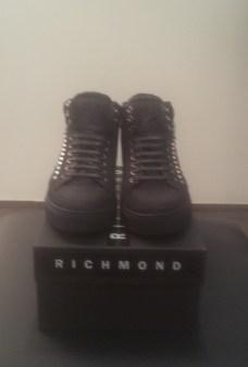 Кроссовки черные с мехом Richmond 6452 Image 0