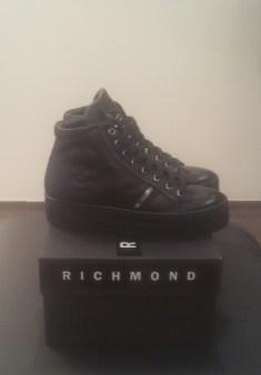Кроссовки черные с молниями и черепом Richmond 6397 Image 1