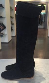 Сапоги ботфорты замшевые черные Blugirl Blumarine арт.65006 Image 1