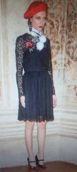 Туфли с вышитыми цветами Blugirl Blumarine арт.64003 Image 2
