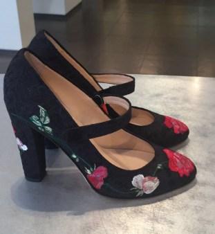 Туфли с вышитыми цветами Blugirl Blumarine арт.64003 Image 1